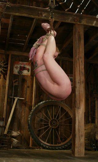 bondage girl hung like lizeta from The Claiming Of Sleeping Beauty