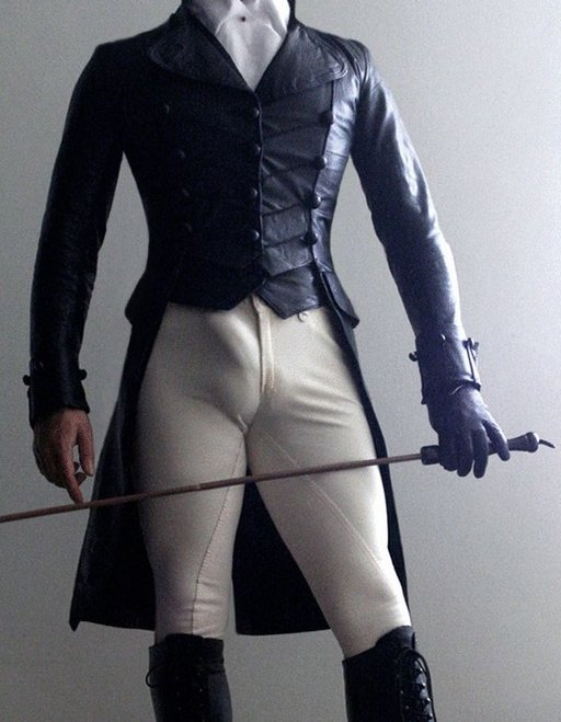 impatient dandy with a big dick and a riding crop