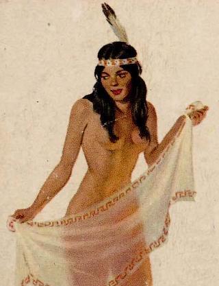 indian princess doing a striptease dance
