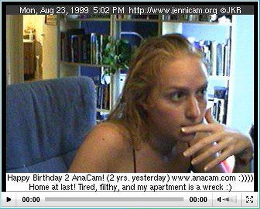 jennicam screenshot 1999