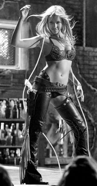 Jessica Alba stripping in Sin City