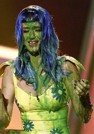 sploshing Katy Perry