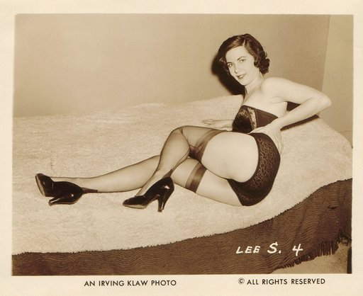 stockings and shoe fetish photo by Irving Klaw