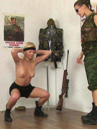 lesbian army exercises