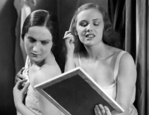 bedtime ablutions in girls boarding school dormitory