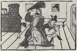 German man beats his wife