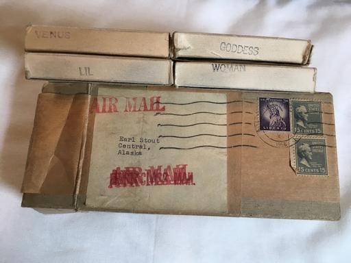 April 1957 mailing of 8mm porn films