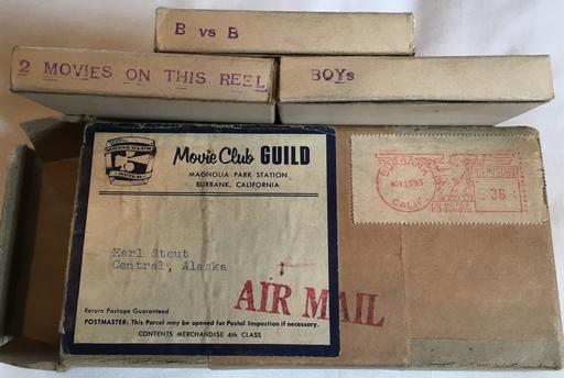 November 15 1955 mail order 8mm porn loops from Movie Club Guild