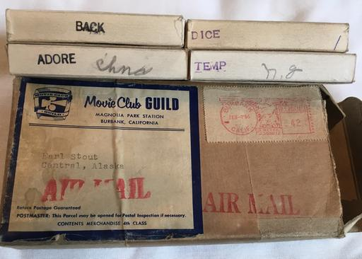 February 07 1956 shipment of dirty movies from movie club guild