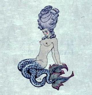 split-tailed mermaid