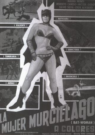 Mexican bat girl