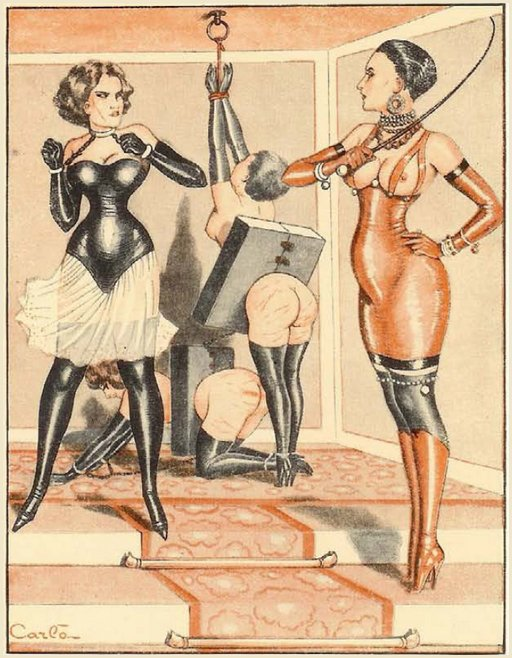 vintage kink fashion