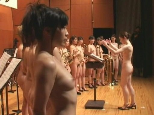 Naked nude orchestra