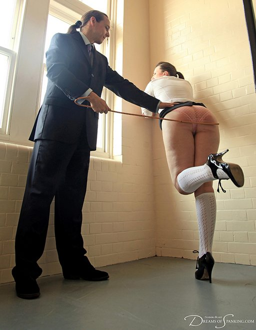 caning pandora for taking naughty selfies of her crotch and panties