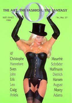 O Magazine corset cover