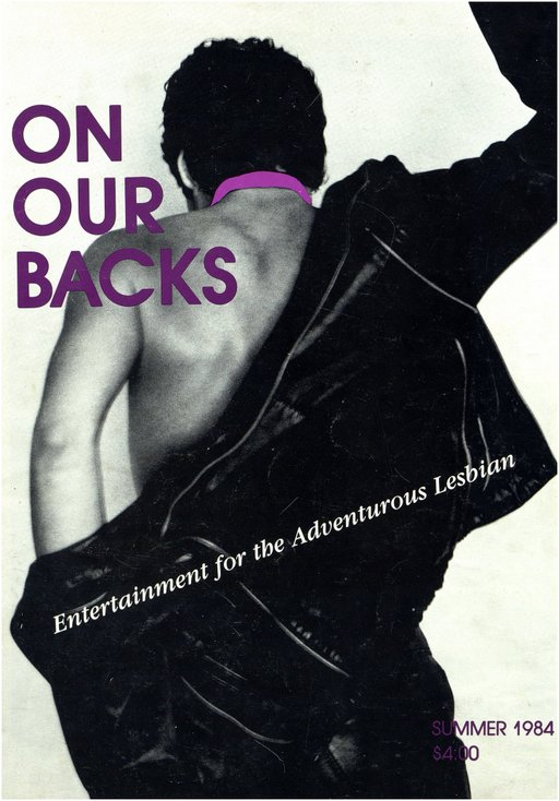 On Our Backs lesbian magazine