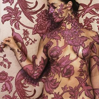 nude urban camoflage body paint