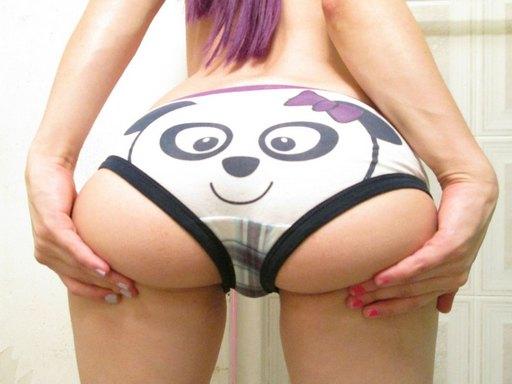 panda panties