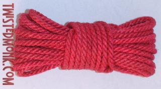 hot pink bondage rope