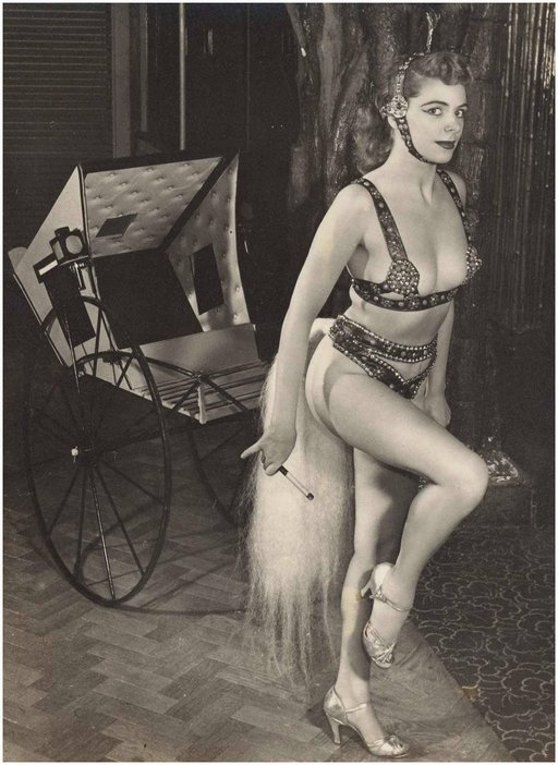 burlesque rickshaw ponygirl driver