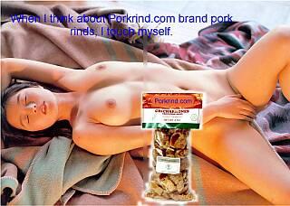 pork rind porn
