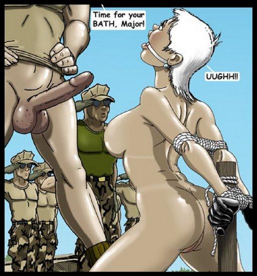 military bukkake