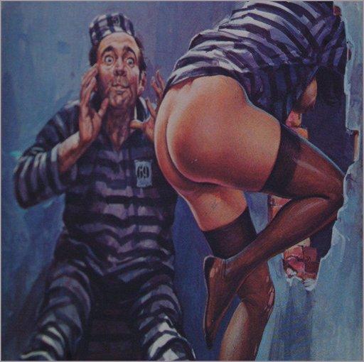 prisoner 69 dismayed as his pretty cellmate makes an escape jailbreak prison break