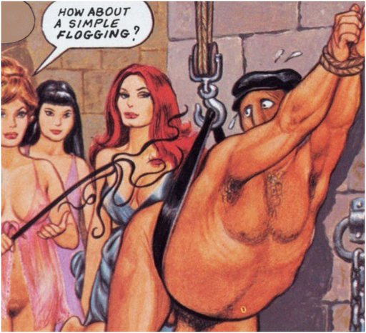 femdom dungeon full of bloodthirsty dominatrix women