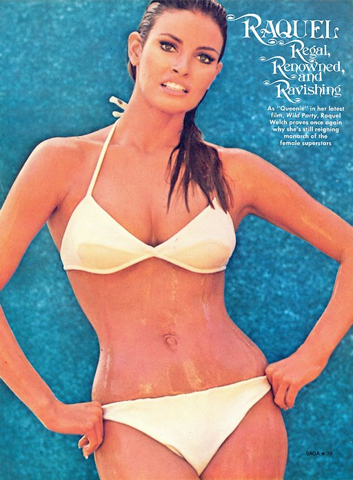 Raquel Welch pictorial - page one bikini