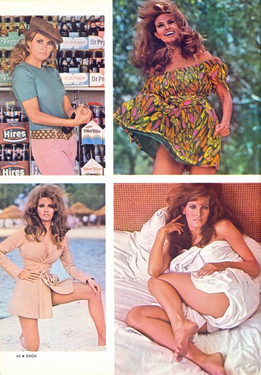 Raquel Welch pictorial - page two assorted random photos