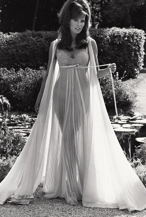 raquel welch in fancy negligee