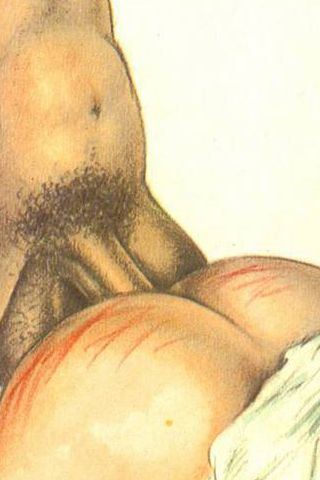 well-striped bottom and anal sex