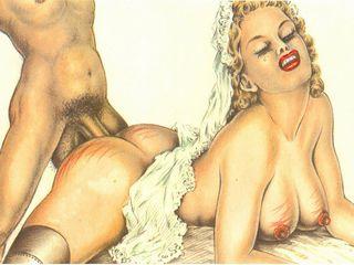 caned bride