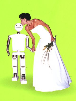 cover art from Love And Sex With Robots