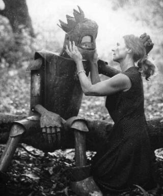 kissing a robot