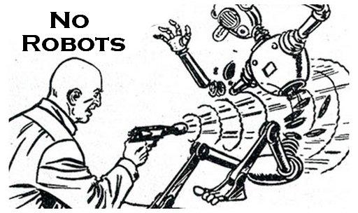 robots forbidden