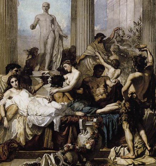 romans at an orgy