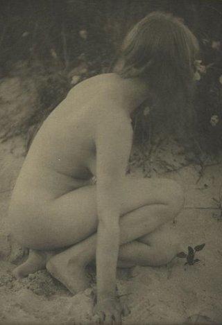 vintage beach nude