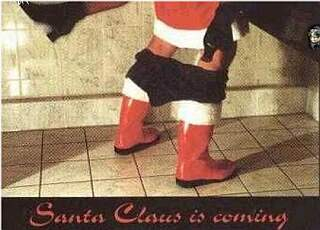 santa clause is coming...hard