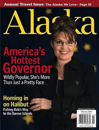 Alaska governor Sarah Palin as America\'s hottest governor