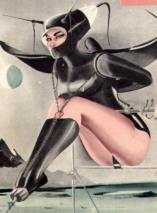 Gene Bilbrew bondage magazine cover