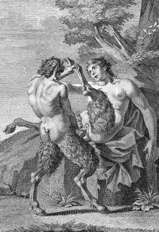 male and female satyrs go at it