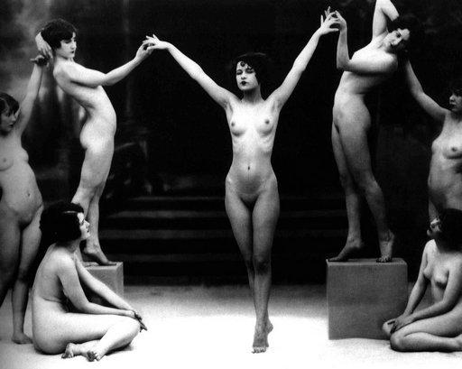 seven naked women