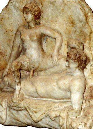 pompeii erotic relief