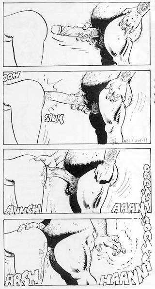sex comic panels