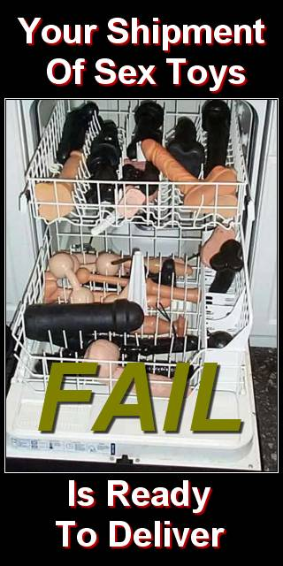LOLfail sex toy washing
