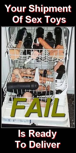 LOLfail sex toy washing