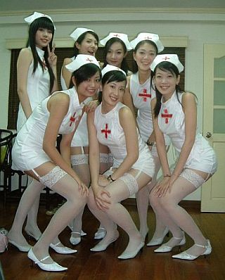 cute sexy nurses