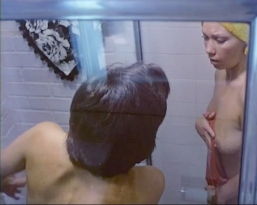 lesbian shower scene directed by Orson Welles