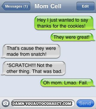 mom\'s cookies are made from ... snatch?
